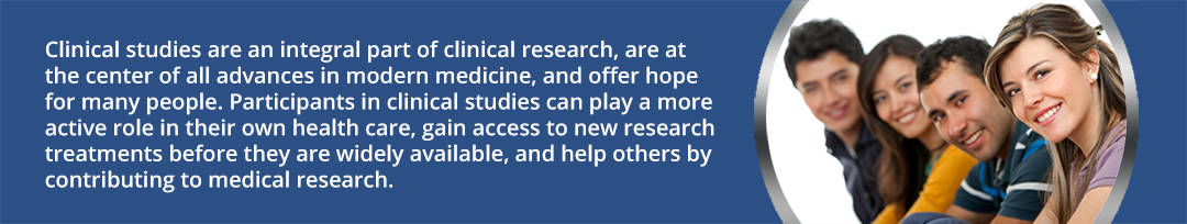 Clinical studies are an integral part of clinical research and are at the heart of all advances in modern medicine