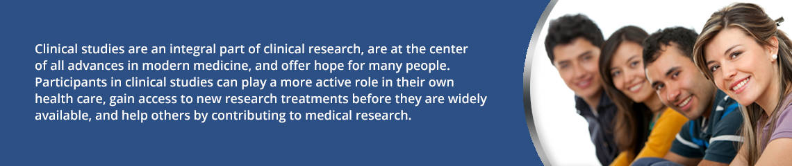 Clinical studies are an integral part of clinical research, are at the center of all advances in modern medicine, and offer hope for many people.