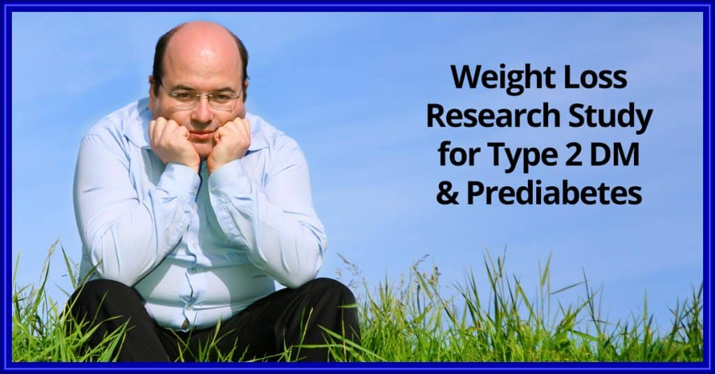 Weight loss study for type 2 diabetes or prediabetes enrolling in West Palm Beach.