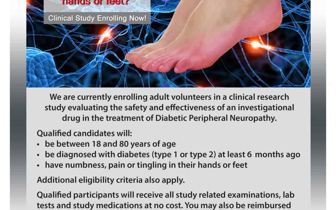 Diabetic Neuropathy Clinical Trial