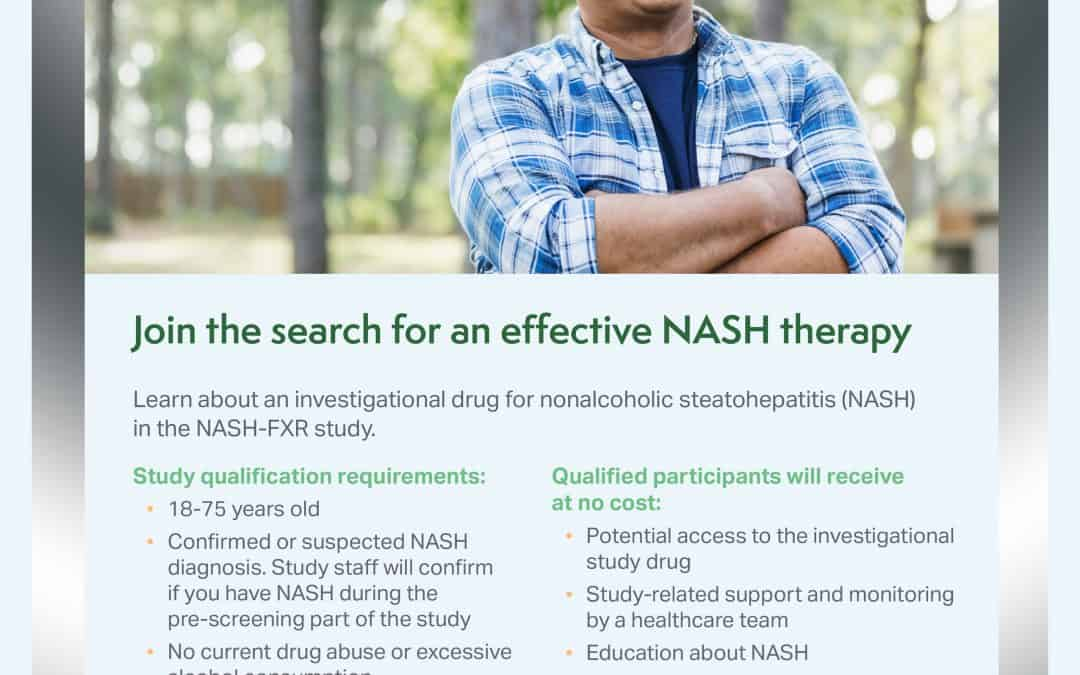 Join the search for an effective NASH therapy
