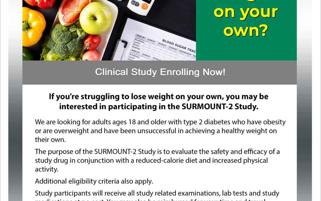 Type 2 Diabetes Weight Loss Study